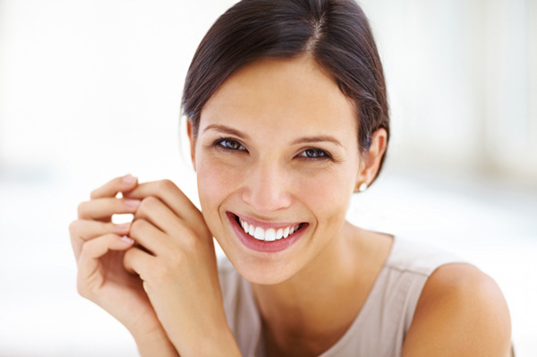 Image of woman smiling
